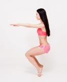 Lean and strong yoga girl. Stock Photos