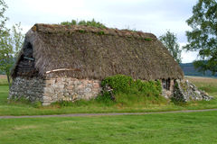 Leanach Cottage - Culloden, Scotland #3 Royalty Free Stock Image