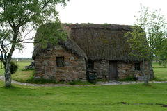 Leanach Häuschen - Culloden, Schottland #2 Lizenzfreie Stockfotografie