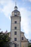 Leander教会, DÃ ¼ sseldorf,德国 免版税库存照片