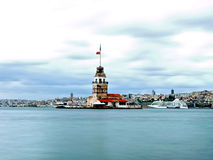 Leanders Tower, Istanbul Stock Photo
