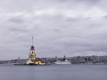 Leanders Tower, Istanbul Royalty Free Stock Image