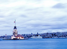 Leanders Tower, Istanbul Royalty Free Stock Photography
