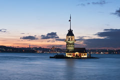 Leanders Tower, Istanbul Royalty Free Stock Images