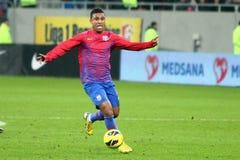 FC Steaua Bucharest- FC Gaz Metan Medias Stock Image