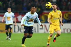 FC Steaua Bucharest - FC Vaslui Royalty Free Stock Photos