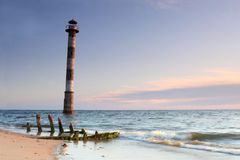 Leaning Lighthouse of Kiipsaare Stock Image