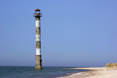 Leaning Lighthouse of Kiipsaare Stock Photography