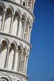 Leaning Pisa tower, Tuscany, Italy Royalty Free Stock Image