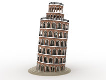 Leaning tower №2 Stock Photos