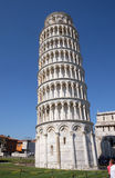 Leaning tower of Cathedral in Pisa Royalty Free Stock Image
