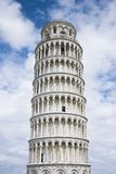 The Leaning Tower completely restored Stock Photography