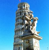 Leaning tower stock photography