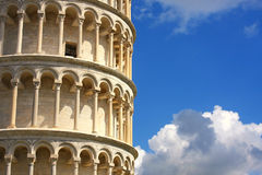 Leaning Tower In Pisa, Tuscany, Italy Royalty Free Stock Photo