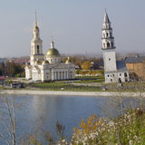 Leaning Tower of Nevyansk Royalty Free Stock Image