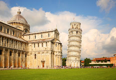 Free Leaning Tower Of Pisa Stock Photo - 43918220