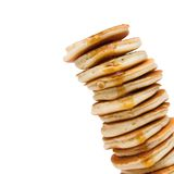 Leaning tower of pancakes Stock Images