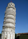 Leaning Tower of Pisa. Isolated Royalty Free Stock Photo