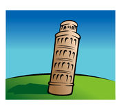 Leaning tower of Pisa Royalty Free Stock Photography