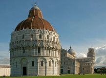 The leaning tower of Pisa. A shot of the leaning tower of Pisa Royalty Free Stock Photography