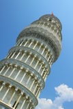 Leaning Tower of Pisa. The Leaning Tower of Pisa (Italian: Torre pendente di Pisa) or simply the Tower of Pisa (La Torre di Pisa) is the campanile, or Stock Image