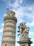 Leaning tower in Pisa Royalty Free Stock Photo
