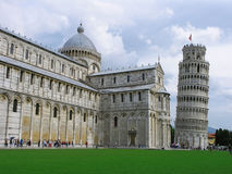 Leaning tower of Pisa (2). The famous leaning tower in Pisa (2 Royalty Free Stock Photos