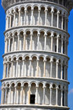 Leaning Tower of Pisa. Closeup of the Leaning Tower of Pisa Stock Image