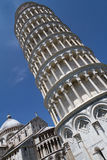 Leaning tower of pisa. The leaning tower of pisa in italy Royalty Free Stock Image