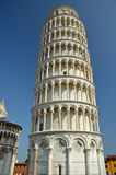 The Leaning Tower of Pisa. The leaning tower from Pisa, Italy Stock Photos