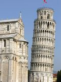 Leaning Tower of Pisa. Tuscany area of Italy royalty free stock photo