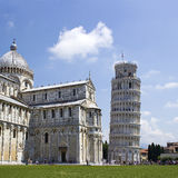 The Leaning Tower of Pisa. Pisa Italy Royalty Free Stock Photos