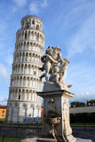 Leaning Tower Of Pisa. The Leaning Tower of Pisa at the Miracle Square. Italy Royalty Free Stock Photo