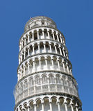 Leaning Tower of Pisa. Detail of the Leaning Tower of Pisa Stock Image