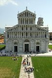Leaning Tower of Pisa. Leaning Tower (Torre Pendente) of Pisa, Tuscany, Italy, Europe Stock Image