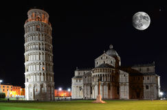 Free Leaning Tower , Pisa Stock Photos - 24335193
