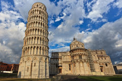Leaning tower in Pisa Royalty Free Stock Images