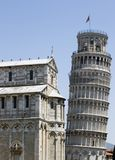 The Leaning tower of Pisa Royalty Free Stock Photography