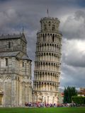 Leaning tower of Pisa Royalty Free Stock Images