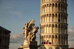 Leaning Tower of Pisa. In Pisa Royalty Free Stock Photos