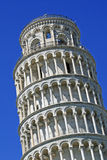 Leaning Tower of Pisa with the blue sky Royalty Free Stock Photography
