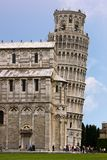 Leaning Tower of Pisa and Cathedral - Pisa, Italy Royalty Free Stock Image
