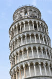 Leaning Tower of Pisa. Famous  iltalian architectural heritage  leaning tower of Pisa Stock Photos