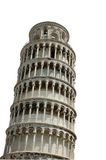 Leaning Tower of Pisa - isolated Royalty Free Stock Image