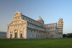 Leaning Tower of Pisa, Italy. The Leaning Tower of Pisa in Italy Royalty Free Stock Photography