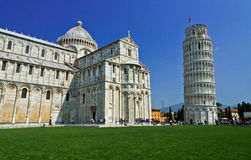 Leaning tower of Pisa, Italy Royalty Free Stock Photo