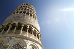 Leaning tower, Pisa Italy. The fantastic leaning tower, Pisa Italy Royalty Free Stock Images