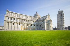 The leaning tower of Pisa, Italy.  Royalty Free Stock Photo