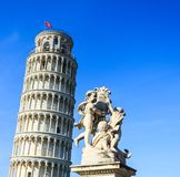 Leaning tower of Pisa. Italy Royalty Free Stock Photos