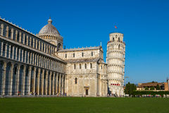 Leaning Tower of Pisa. The Leaning Tower of Pisa in Italy royalty free stock photo